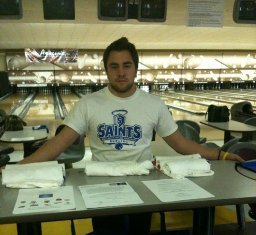 Everett Patterson is a member of the OLLU Bowling Team.
