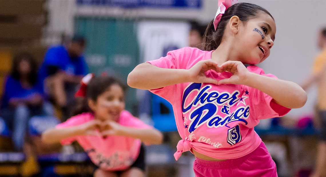 Photo for Fifth Annual Saints Cheer Clinic set for Feb. 17