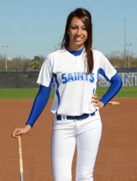 Maegan Ramirez won three games for the Saints last week.