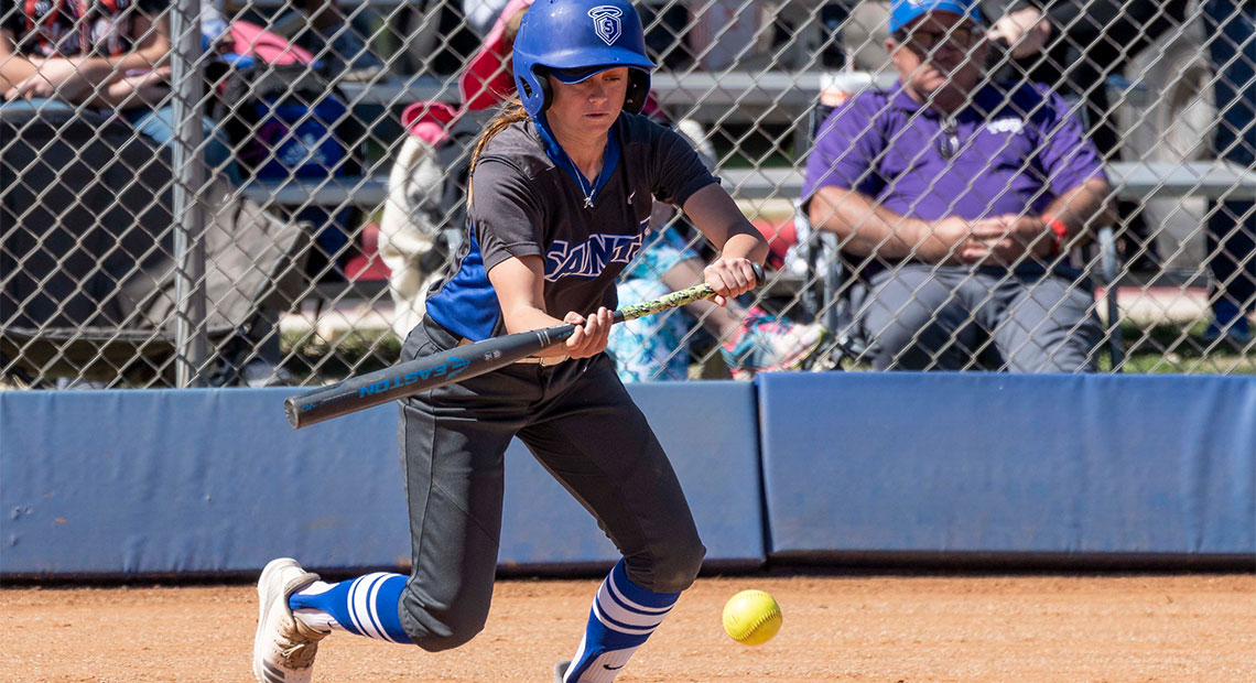 Kennah Kennedy stole two bases against Ranger College.