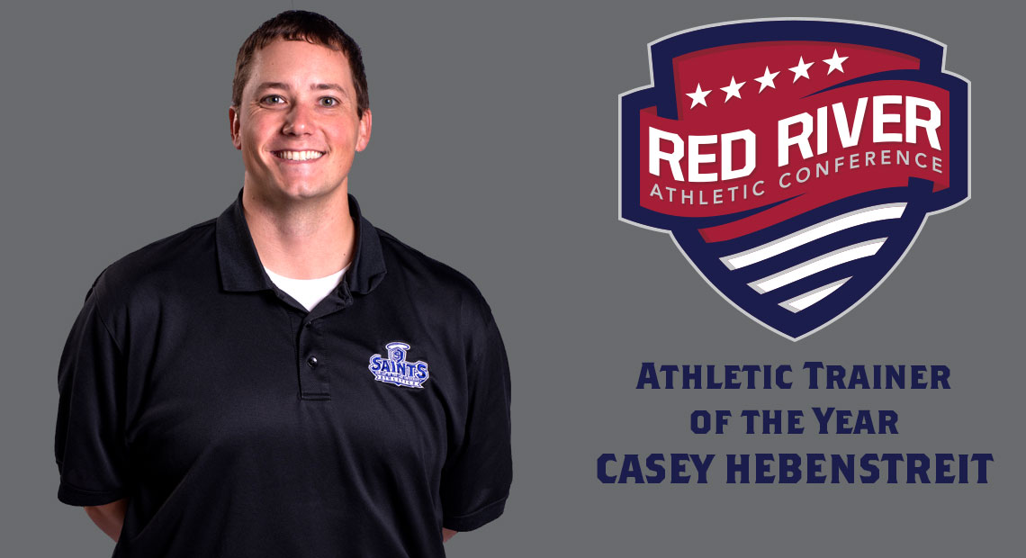 Photo for OLLU's Casey Hebenstreit selected as Red River Athletic Conference Athletic Trainer of the Year