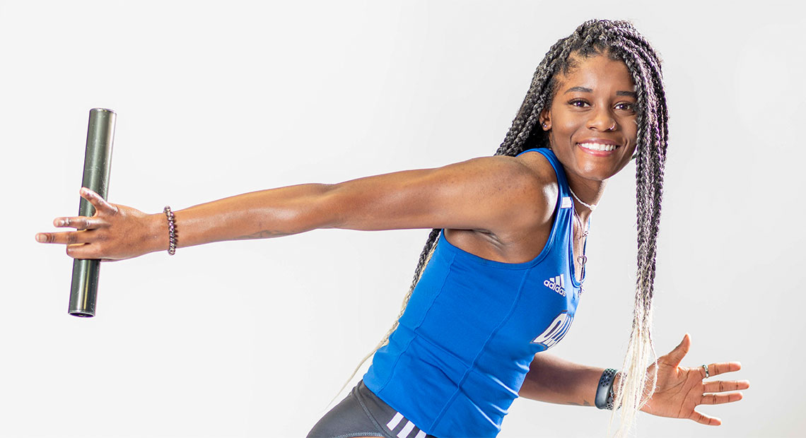 Aundrea Culliver broke an OLLU record in the triple jump.