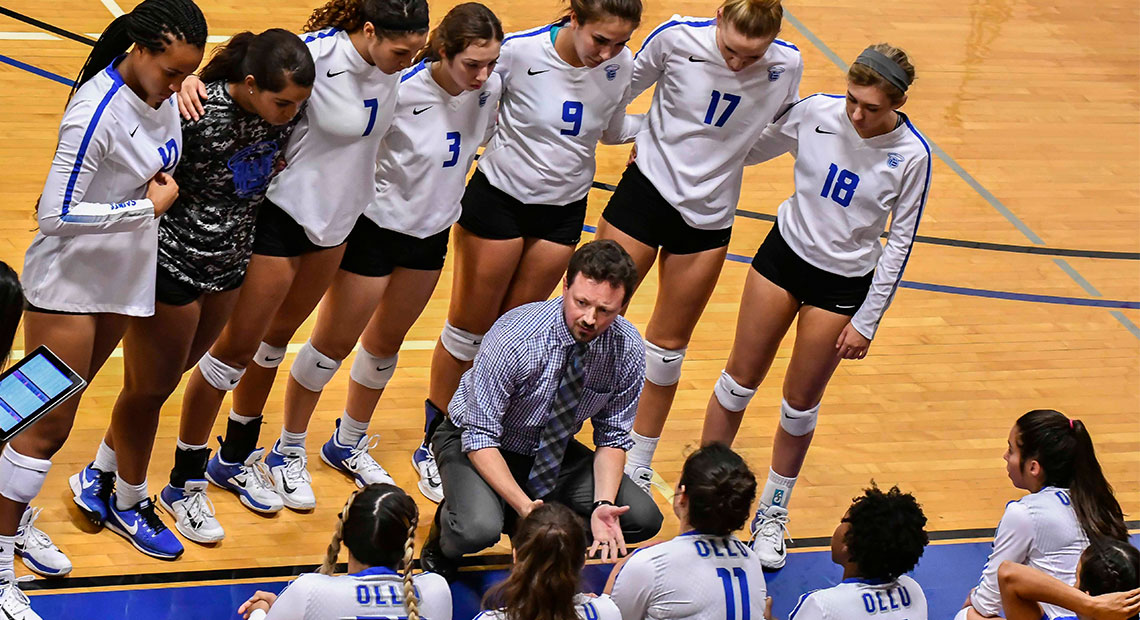 Photo for OLLU volleyball begins conference with two wins