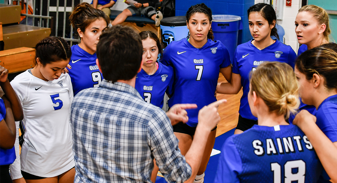 Photo for Saints volleyball will hold open tryouts on Dec. 10