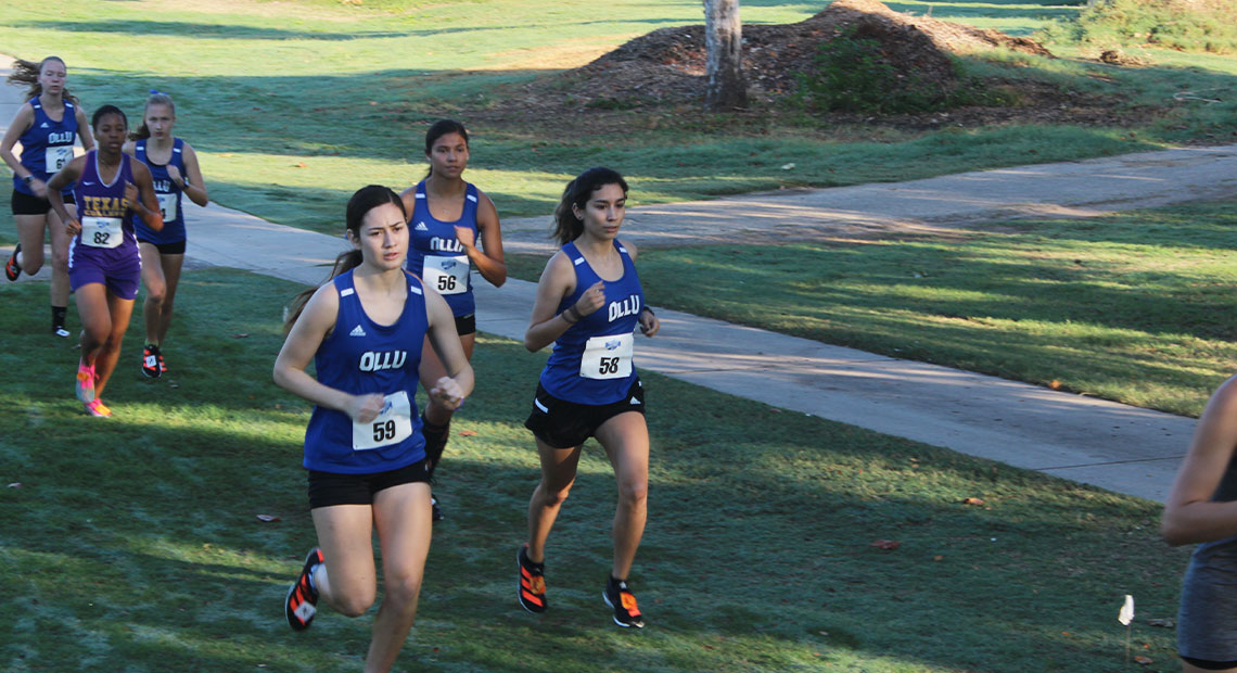 Nadia Sifuentes (No. 59) was the Saints top finisher.