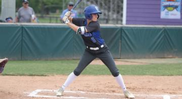 Madison Nunn hit a double in the victory over the Lady Bulldogs.